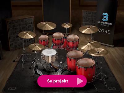 Stillbild från interaktiv lösning för Toontrack